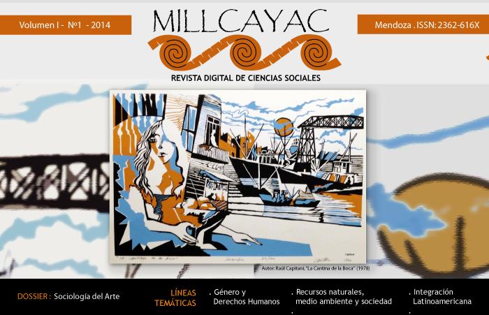 Vol. I, Núm. 1 (2014): Dossier: Sociología del Arte