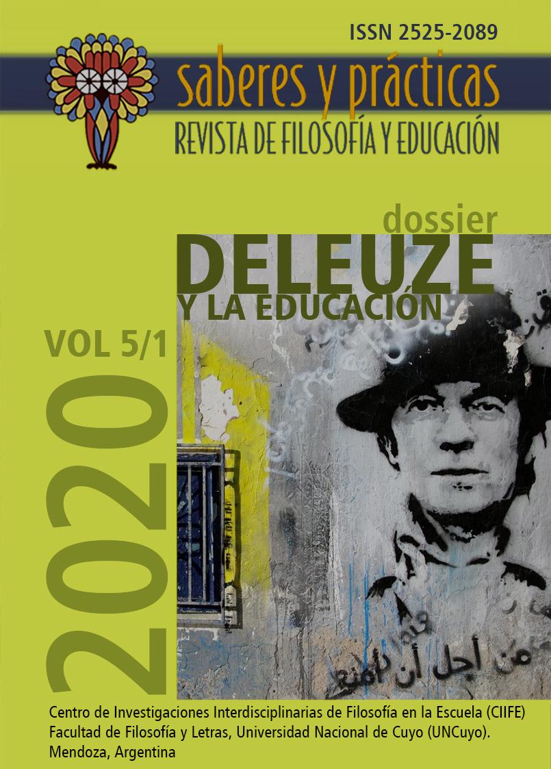 Saberes y prácticas. Revista de filosofía y educación. Volumen 5 Nº 1