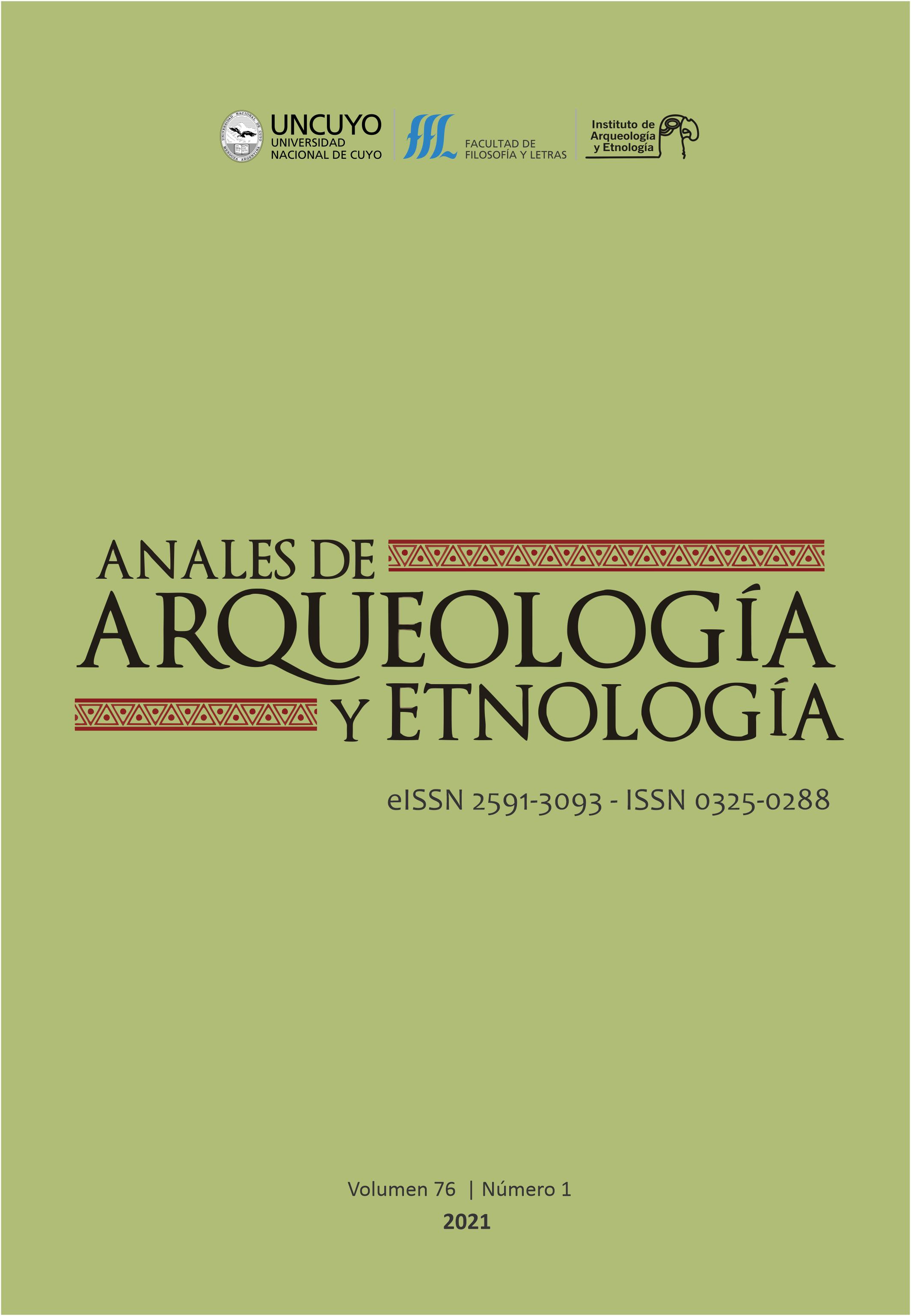 Anales de Arquelogía y Etnología 76