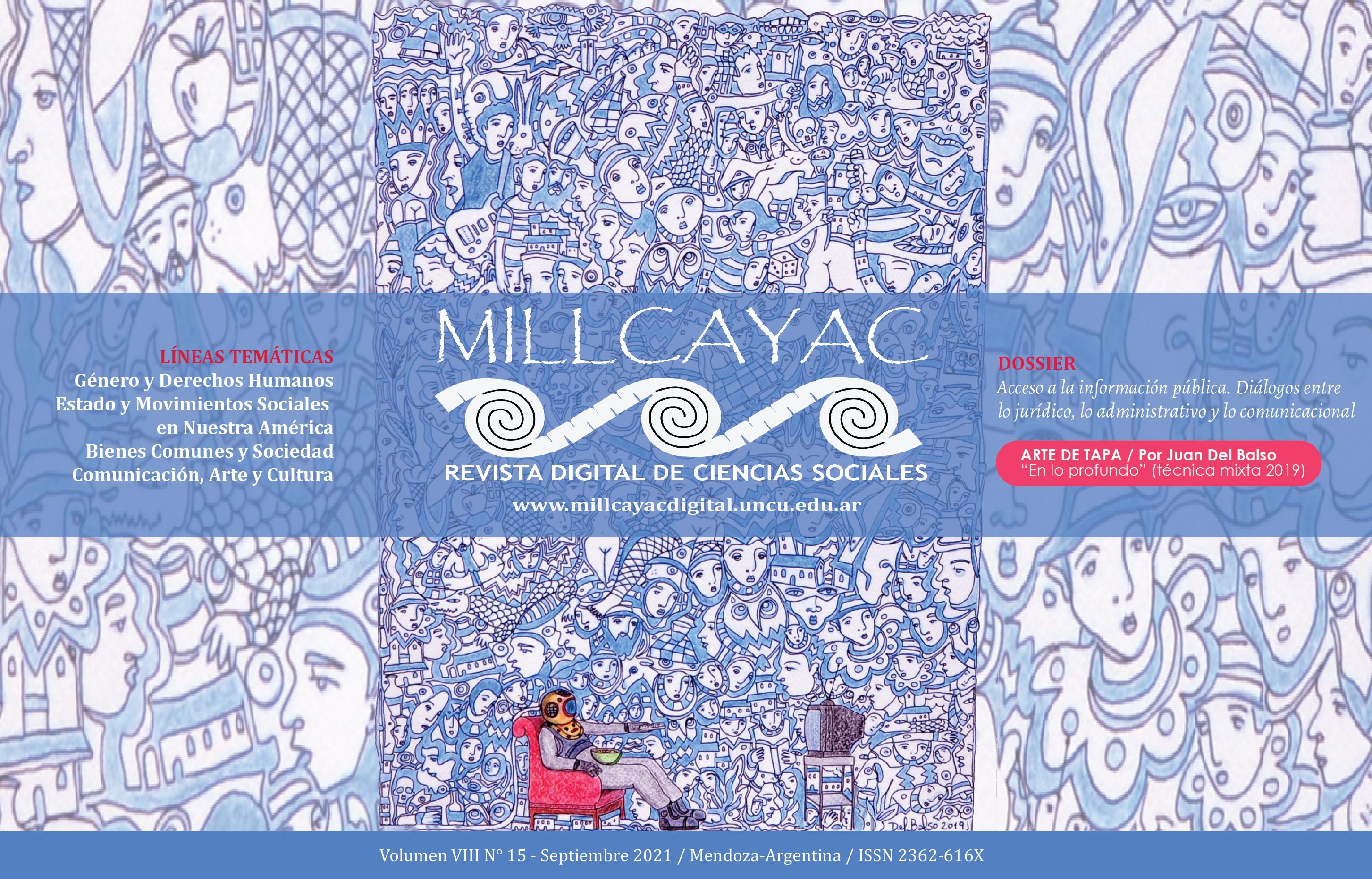 Ver Vol. 8 Núm. 15 (2021): Millcayac Revista Digital de Ciencias Sociales (septiembre-febrero)