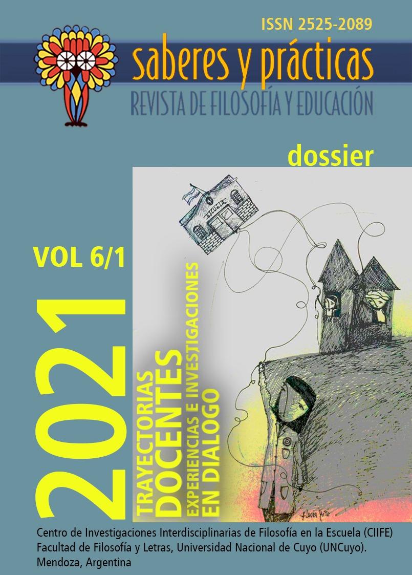 Saberes y prácticas. Revista de filosofía y educación. Volumen 6 Nº 1