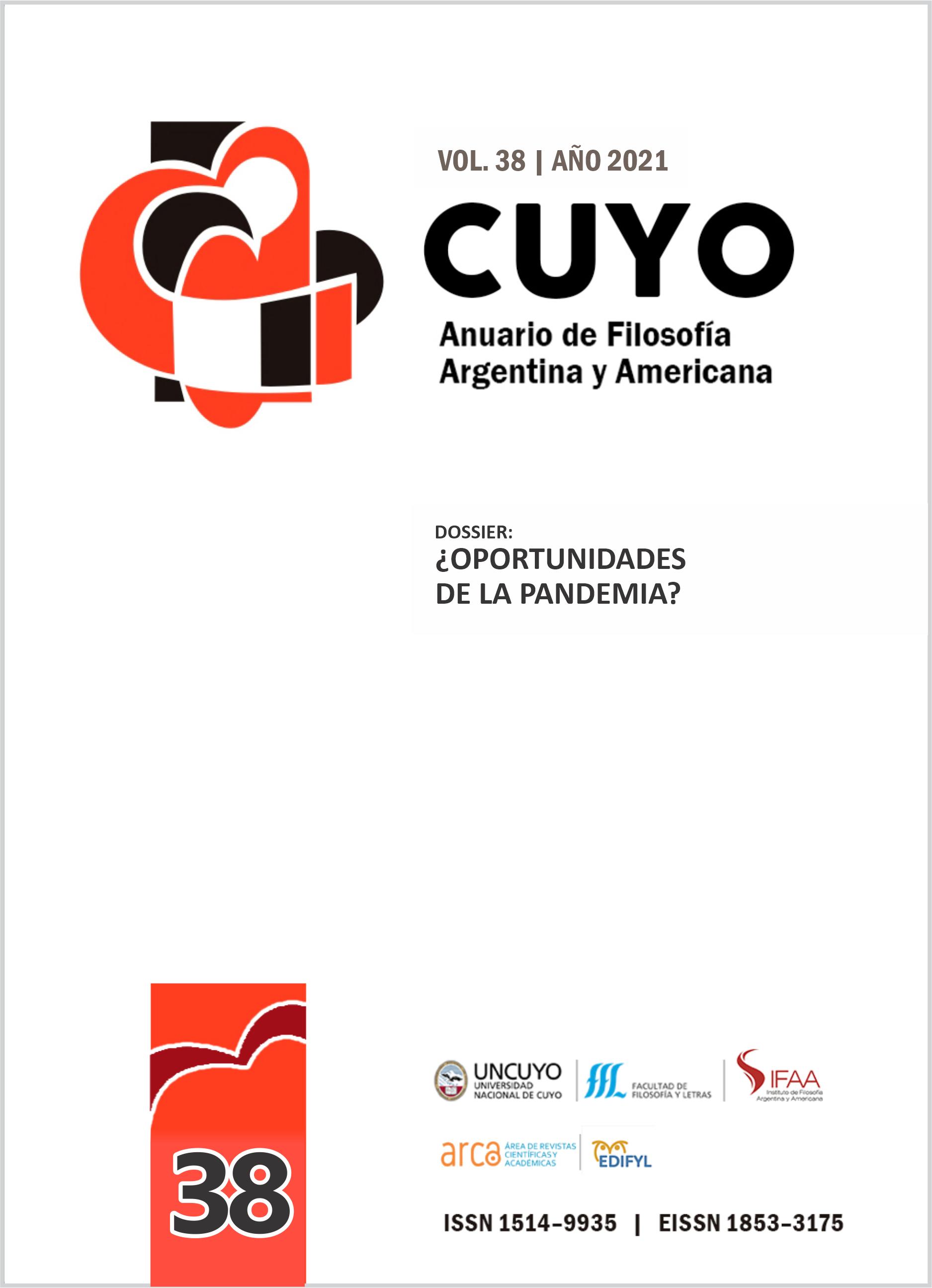 CUYO. Anuario de Filosofía Argentina y Americana