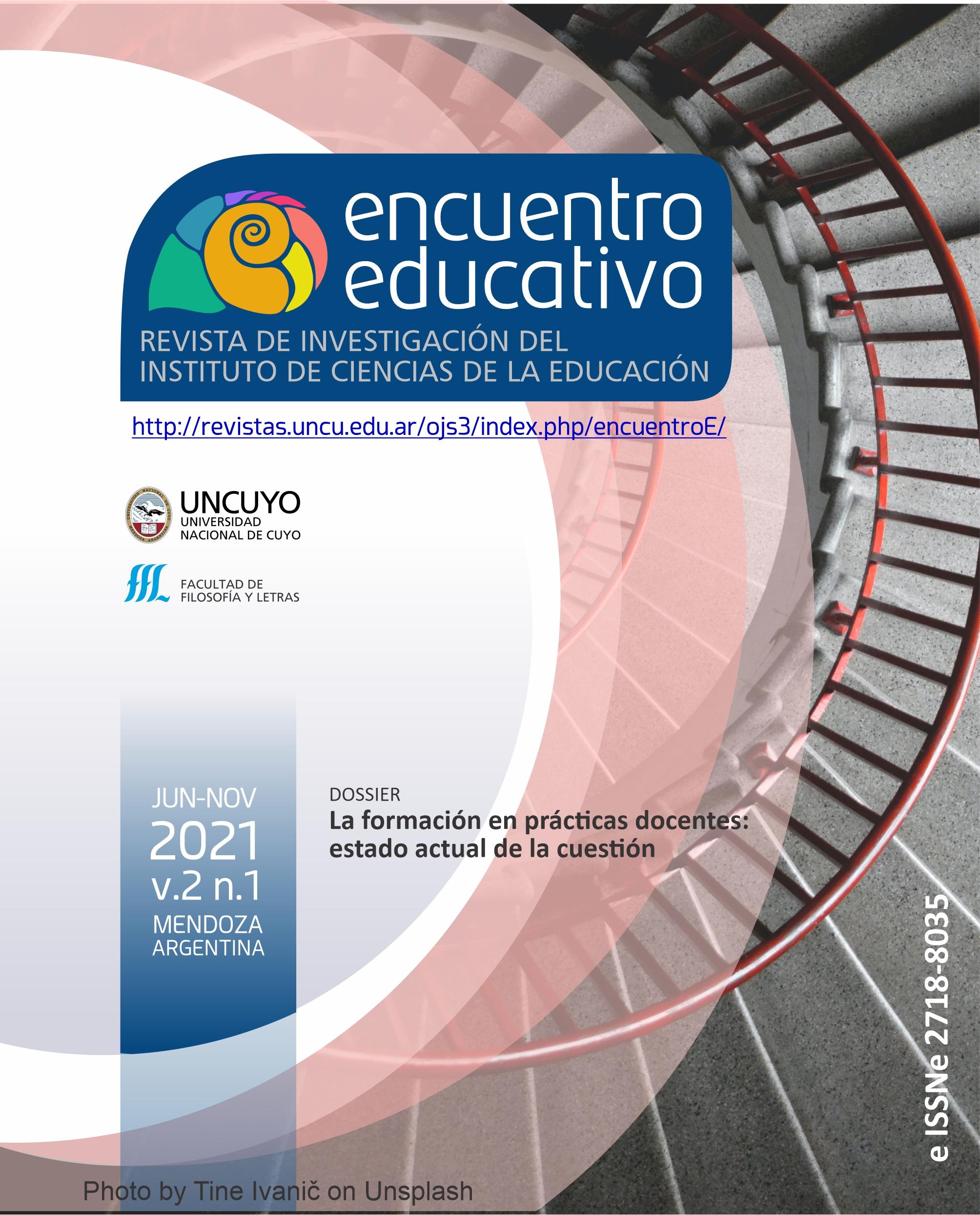 Ver Vol. 2 Núm. 1 (2021): DOSSIER La formación en prácticas docentes: estado actual de la cuestión
